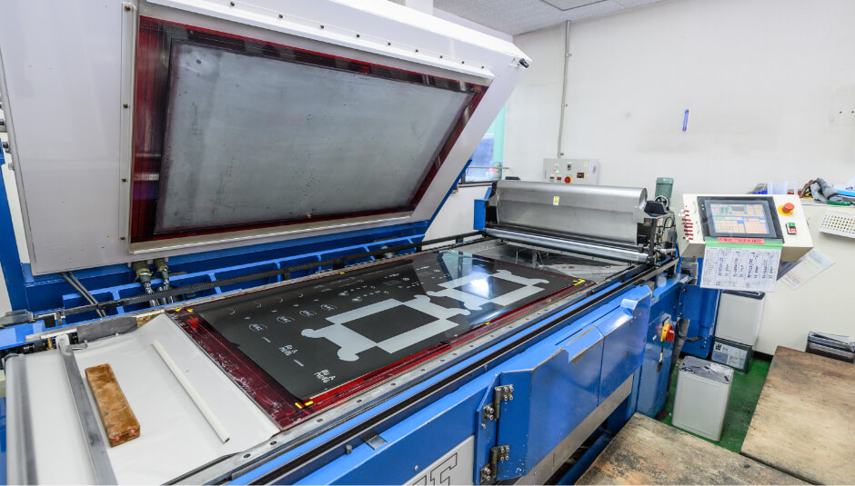 TENAFLEX SR(液状樹脂)製版システム